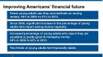 improving americans financial future