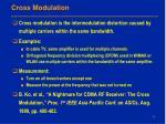 cross modulation