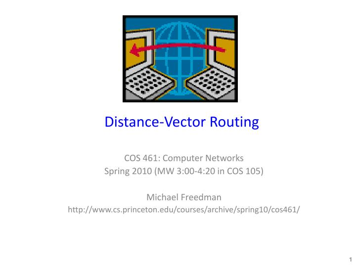 distance vector routing n.