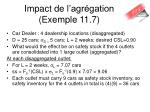 impact de l agr gation exemple 11 7
