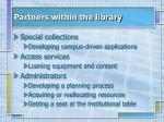partners within the library1