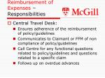 reimbursement of expenses responsibilities1