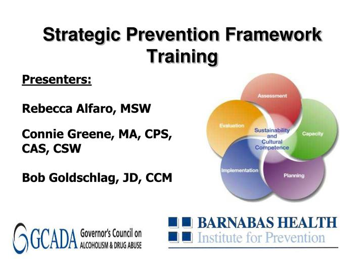 strategic prevention framework training n.