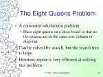 the eight queens problem