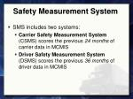 safety measurement system2