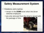 safety measurement system6