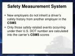 safety measurement system7
