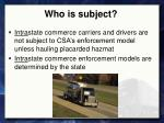 who is subject2