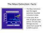 the mass extinction facts