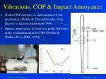 vibrations cop impact annoyance