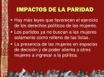 impactos de la paridad1
