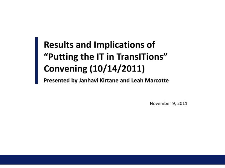 it in transitions n.