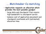 matchmaker co matching1