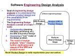 software engineering design analysis1