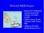 noaa cmer project