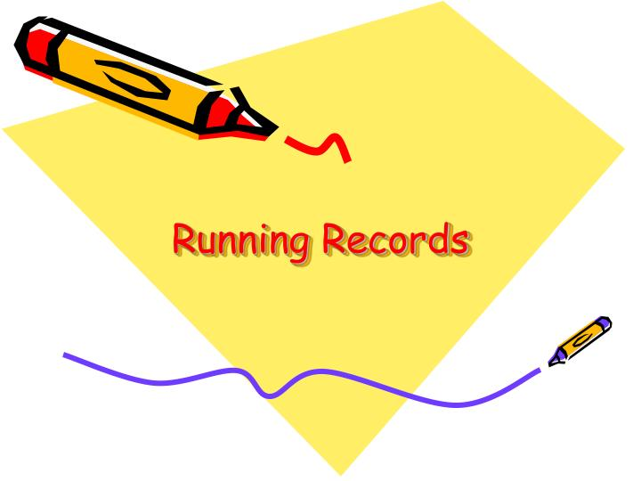 running records n.