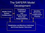 the saferr model development