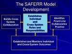 the saferr model development2