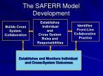 the saferr model development4