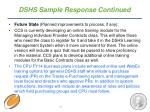 dshs sample response continued1