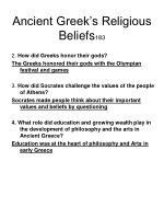 ancient greek s religious beliefs 183