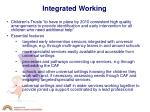 integrated working