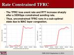 rate constrained tfrc1