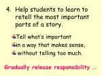 4 help students to learn to retell the most important parts of a story