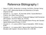 reference bibliography i