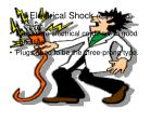 electrical shock continued