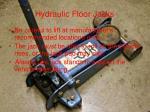 hydraulic floor jacks