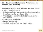 11 4 government failure and preferences for markets over planning1
