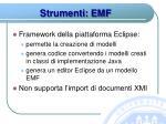 strumenti emf