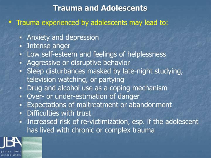 Trauma and Adolescents