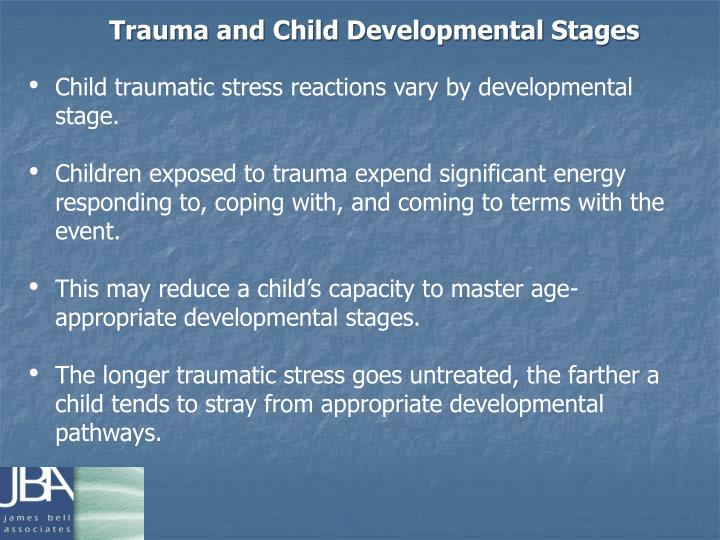 Trauma and Child Developmental Stages