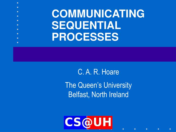 communicating sequential processes n.