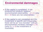 environmental dammages