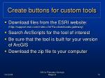 create buttons for custom tools