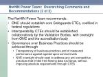 nwhin power team overarching comments and recommendations 2 of 2