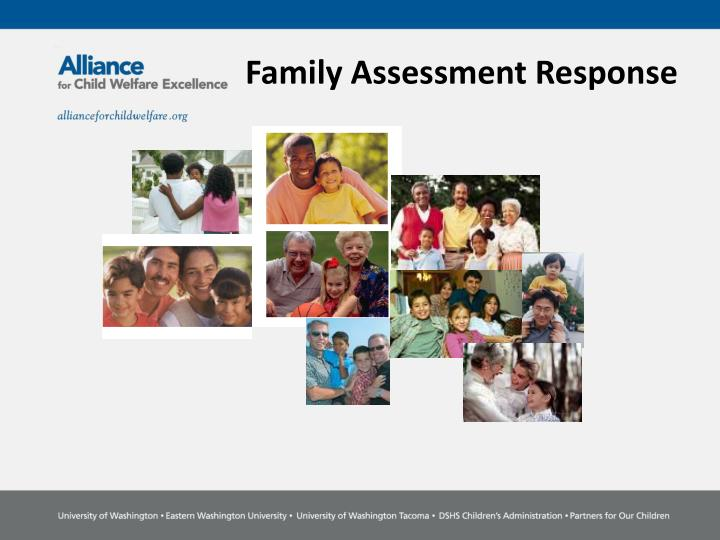 family assessment response n.