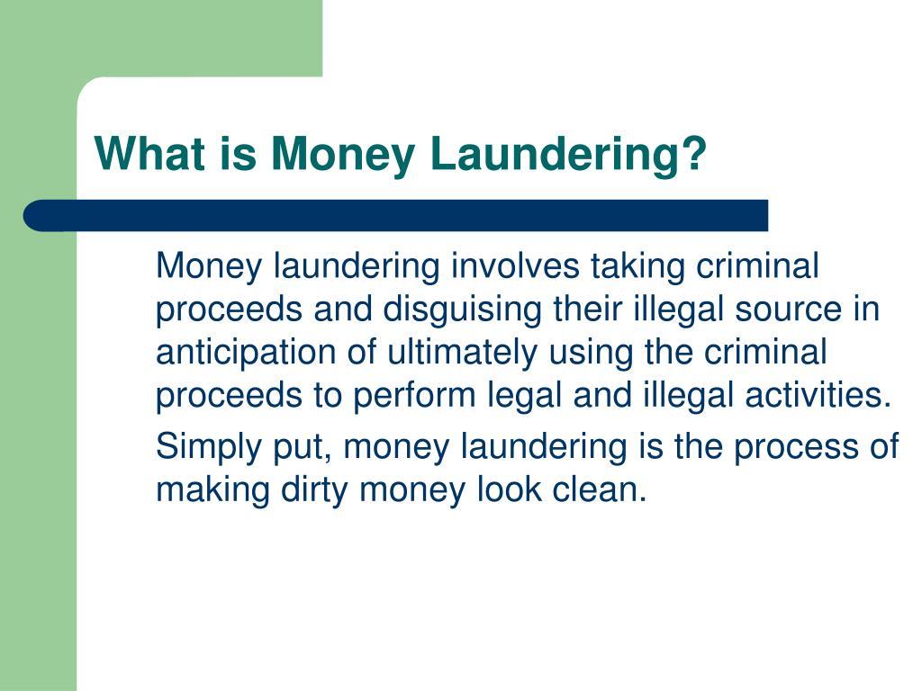 PPT - Anti-Money Laundering PowerPoint Presentation - ID:5621520