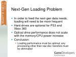 next gen loading problem3
