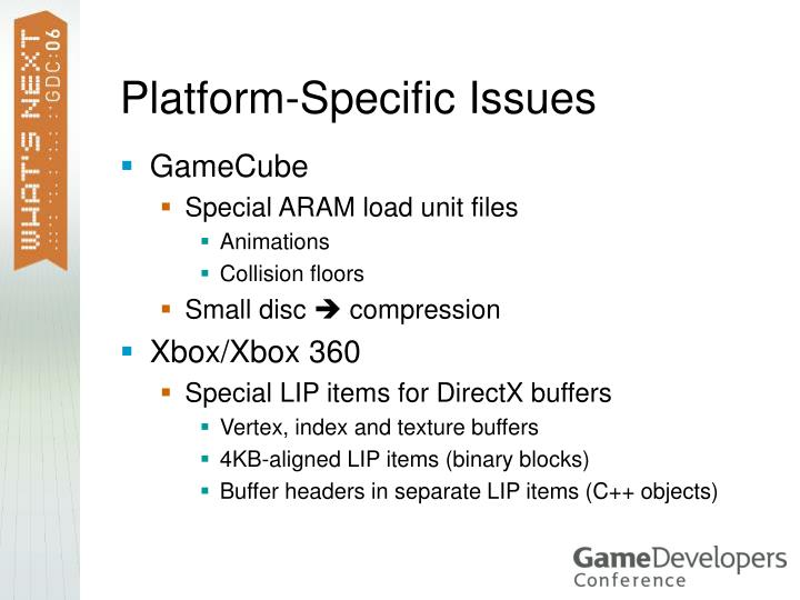 Platform-Specific Issues
