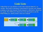 link lists