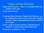 types of data structure