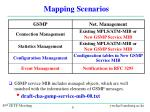 mapping scenarios