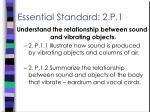 essential standard 2 p 1