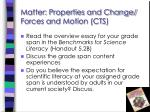 matter properties and change forces and motion cts3