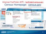 american factfinder aff factfinder2 census gov census homepage census gov