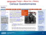 c ensus gov footer about us history census questionnaires